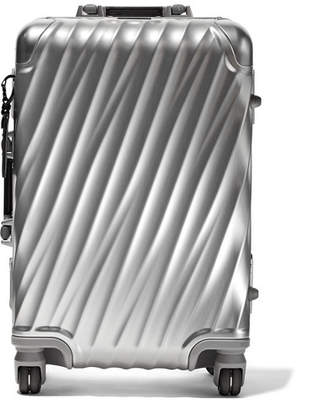 Tumi International Carry-on Aluminum Suitcase - Silver