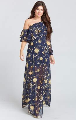 Show Me Your Mumu Emma Ruffle Maxi Dress ~ City of Stars