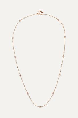 Messika My Soul 18-karat Rose Gold Diamond Necklace - one size