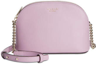 89d53112f Kate Spade Purple Leather Crossbody Handbags - ShopStyle