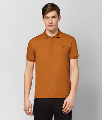 Bottega Veneta ORANGE COTTON POLO