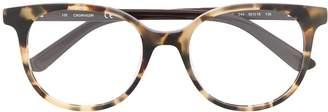 Calvin Klein tortoiseshell-effect glasses
