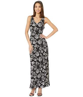 Karen Kane V-Neck Maxi Dress