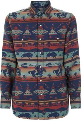 Polo Ralph Lauren Western Cowboy Jacquard Shirt