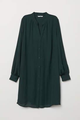 H&M V-neck Dress - Green