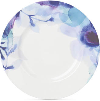Lenox Indigo Watercolor Floral Porcelain Accent/Salad Plate, Created for Macy's