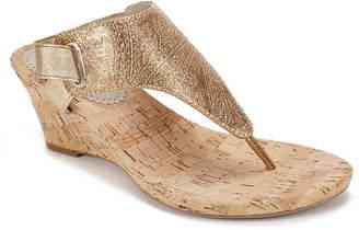 b1161ae449c White Mountain Wedge Women s Sandals - ShopStyle
