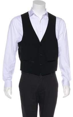 Givenchy V-Neck Suit Vest