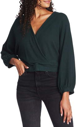 1 STATE 1.State Faux Wrap Sweater