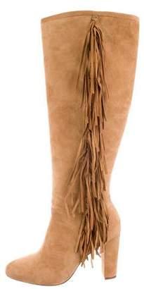 Lauren Ralph Lauren Suede Pointed-Toe Boots