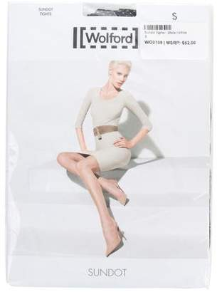 Wolford Sundot Polka Dot Tights w/ Tags