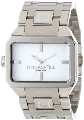 Rockwell Time ' Dual Time' Swiss Quartz Stainless Steel Casual Watch