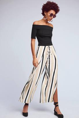 Faithfull Mikayla Striped Pants $128 thestylecure.com