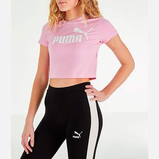 Puma Women's Amplified Cropped T-Shirt