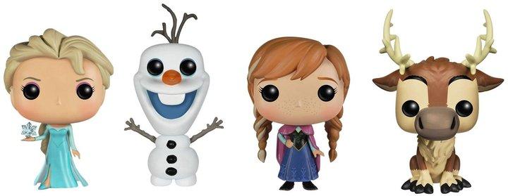 Funko Disney Frozen Pop! Vinyl Set: Anna, Elsa, Olaf, Sven