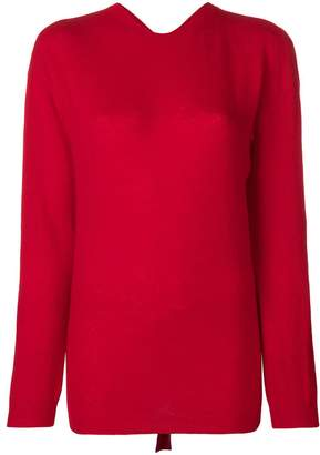 Valentino mock neck sweater