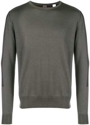 Oamc tonal block sweater