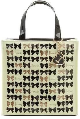 Harrods Glitter Bow Small Handbag