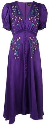 Saloni Lea embroidered dress