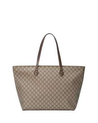 66df7a2b88a Gucci Ophidia Medium Soft GG Supreme Canvas Tote Bag