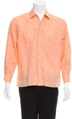 Loro Piana Linen Button-Up Shirt