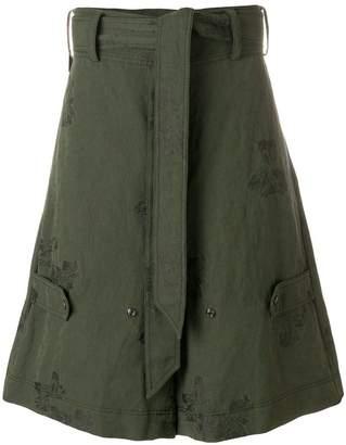 Damir Doma jacquard cargo shorts