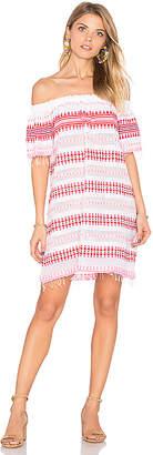 Lemlem Tabtab Off Shoulder Dress