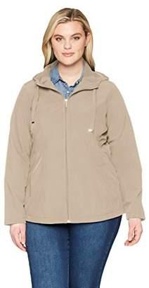 Weatherproof Women's Softshell Hooded Jacket