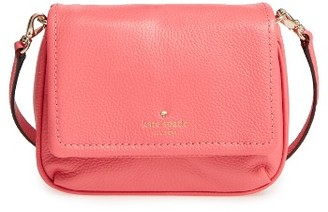 Kate Spade New York Cobble Hill - Abela Leather Crossbody Bag - Red $198 thestylecure.com