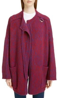 Chloé Wool & Cashmere Cardigan Coat