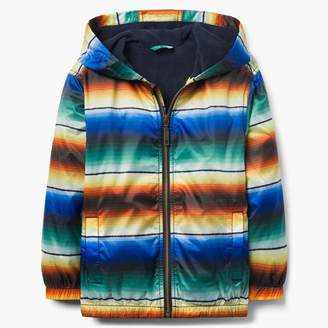 Gymboree Striped Windbreaker Jacket