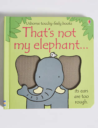 Marks and Spencer That's Not My Elephant Book