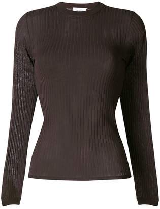 Wood Wood ribbed round neck jumper