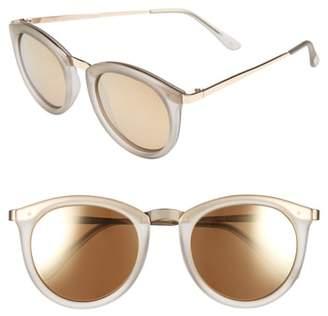 Le Specs No Smirking 50mm Polarized Sunglasses