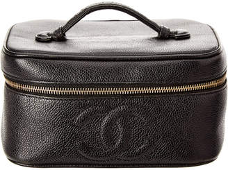 Chanel Horizontal Caviar Leather Cosmetic Case