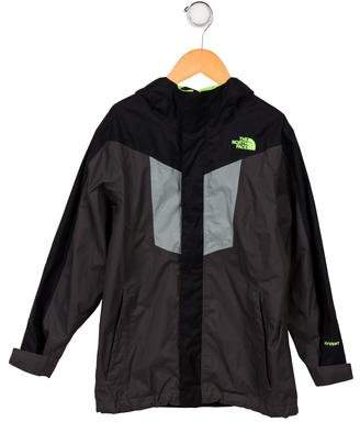 The North Face Boys' Hooded Windbreaker Jacket