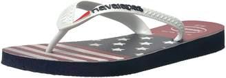 Havaianas Women's Top USA Stars and Stripes Flip Flop Sandal