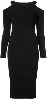Vince cut-out shoulder dress
