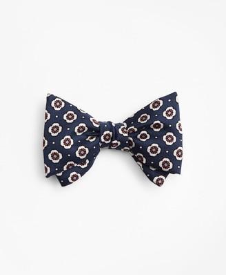 Brooks Brothers Medallion Print Bow Tie