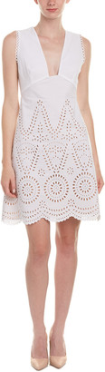 Stella McCartney Perforated A-Line Dress