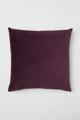 H&M Quilted velvet cushion cover
