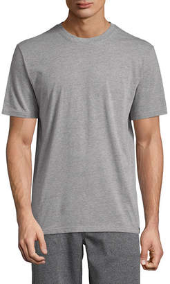 Izod Mens Knit Pajama Top Short Sleeve