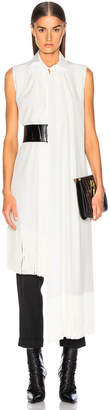 Givenchy Fringe Hem Sleeveless Tunic