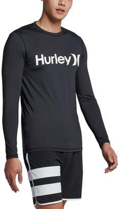 Hurley One & Only Long-Sleeve Surf Shirt - Men's