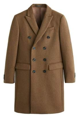 Mango Man MANGO MAN Double-breasted wool coat