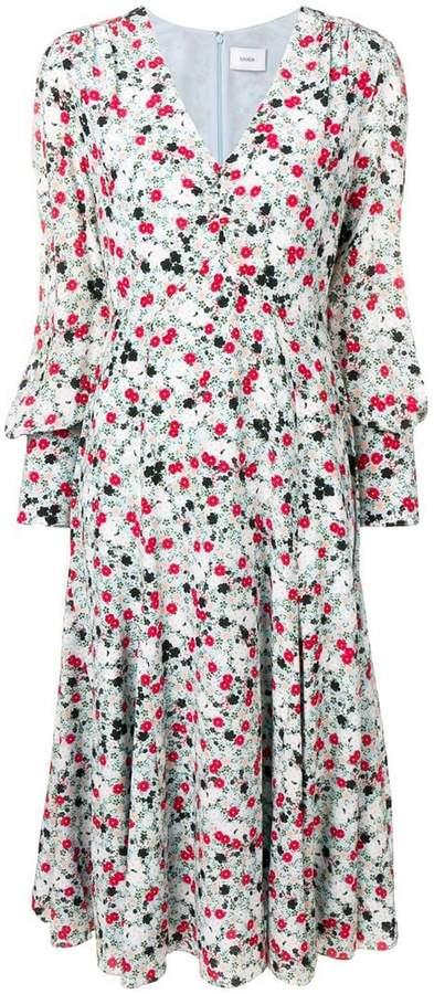 Keiko floral print dress