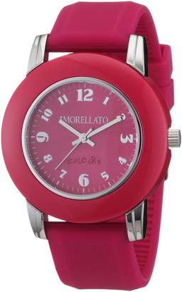 Morellato Women's R0151100013 Colours Red silicone band watch.