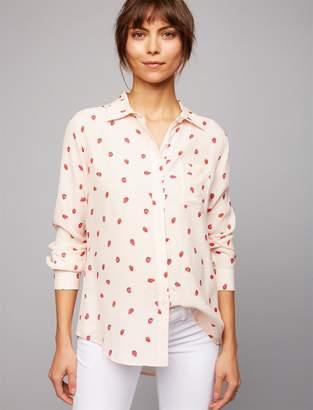 Rails Strawberry Maternity Shirt