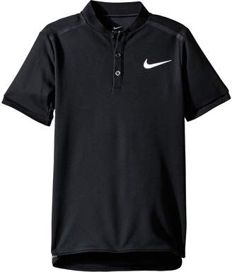 Nike Court Advantage Tennis Polo Boy's Short Sleeve Pullover