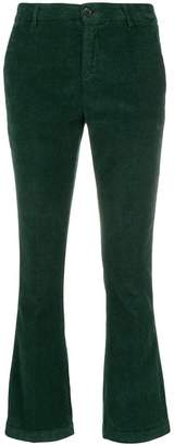 Department 5 cropped corduroy trousers